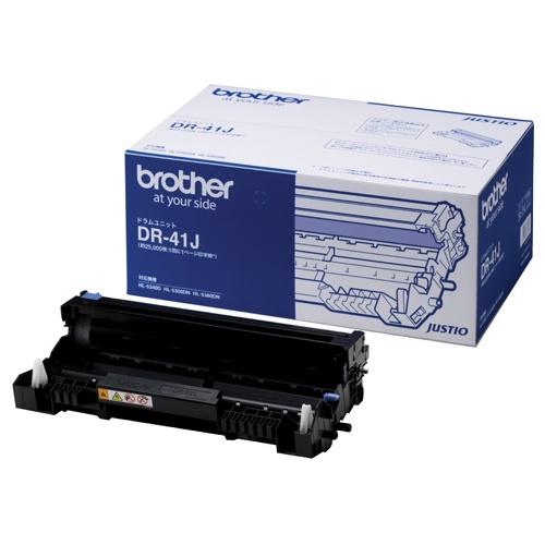 【純正品】 ブラザー BROTHER DR-41J/DR41J ドラムユニット