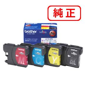 LC16 【4本セット・色選択自由】BROTHER ブラザー 純正インクカートリッジ