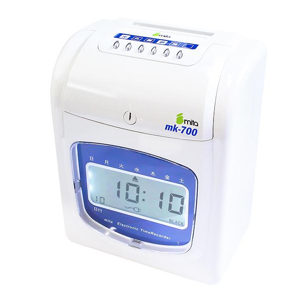 mita 電子タイムレコーダー MK-700 (タイムカード50枚付き)
