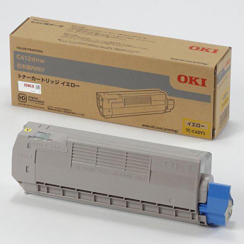 【純正品】 沖データ OKI TC-C4DY1 トナーカートリッジ イエロー