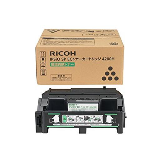【純正品】 リコー RICOH IPSiO SP ECトナーカートリッジ 4200H