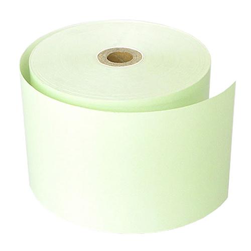 58mm幅用 58×80×12 緑 カラー感熱レジロール紙 (5巻パック)