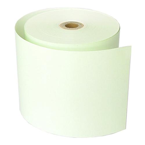 80mm幅用 80×80×12 緑 カラー感熱レジロール紙 (5巻パック)
