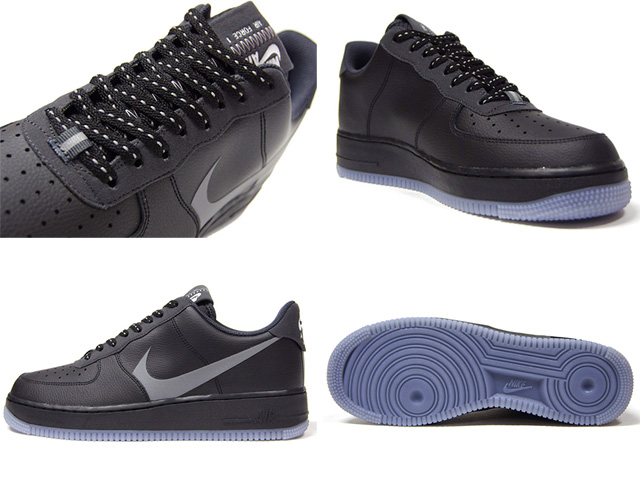 Nike Air Force 1 07 Lv8 BlackSilver Lilac