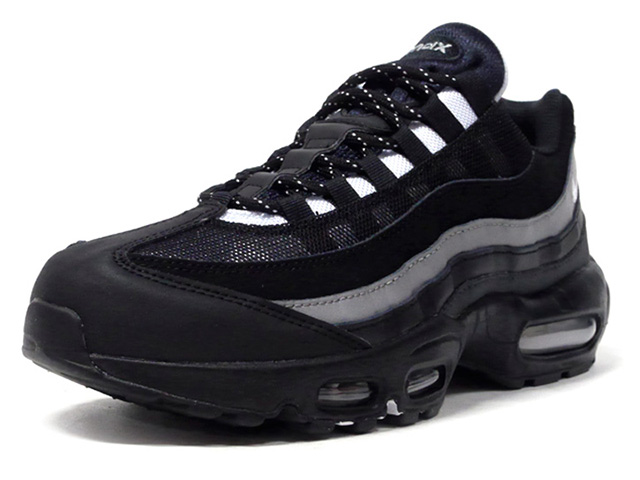 NIKE AIR MAX 95 ESSENTIAL BLACK WHITE CT1805-001 DARK SMOKE PARTICLE REFLECT 新作通販 SILVER 豊富な品 GREY