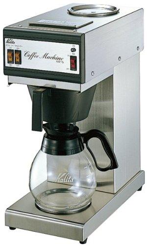★東証上場の安心企業★Kalita (カリタ) 業務用 電動コーヒーメーカー(約15杯分) 省スペース ステンレスタイプ KW-15 パワーアップ型 KW-15-P【kk9n0d18p】