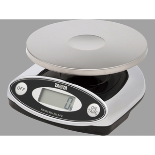 タニタ【TANITA】デジタル防水スケール KW-003 3 kg(クロム)(取引証明以外用) 【送料無料】