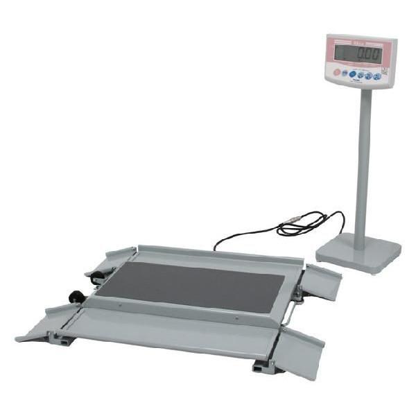 大和製衡株式会社【yamato】デジタル体重計 車いす体重計 DP-7101PW-K【送料無料】【検定付】