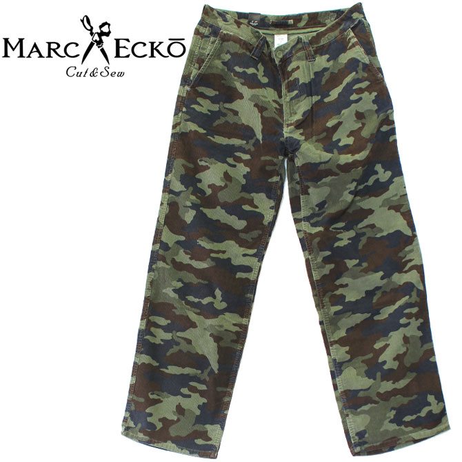 MARC ECKO マークエコー SPECIAL OPS CAMO CORDUROY PANTS コーデュロイ パンツ 迷彩 ストリート アーバン 太め 太い シルエット ゆったり