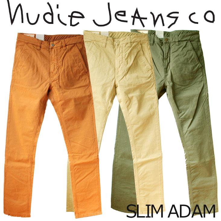 ヌーディージーンズ Nudie Jeans SLIM ADAM スリムアダム チノパン