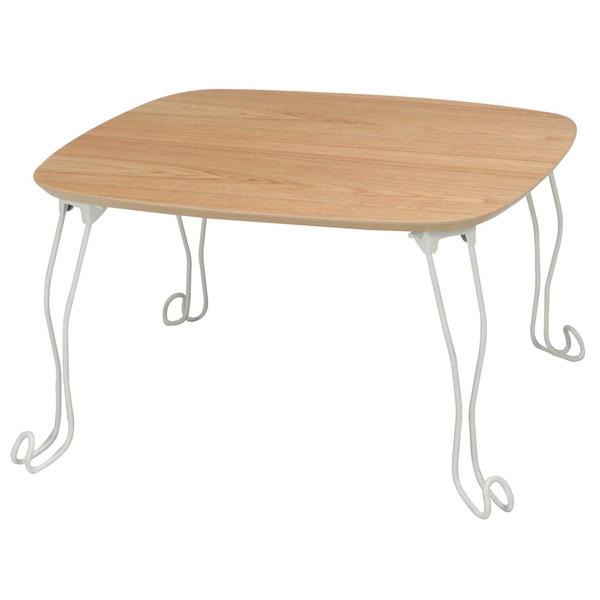 折りたたみ 猫脚 テーブル 60cm×60cm 代引き沖縄・離島発送コンビニ受取不可