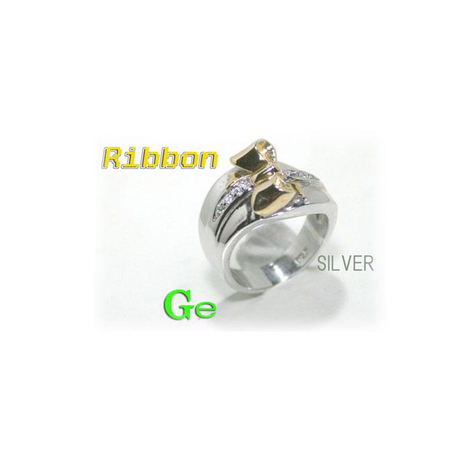 SV ゲルマニウム「りぼん」リング┣--*--*--┫SV ゲルマニウム「りぼん」リング SILVER シルバー ゲルマニウム「りぼん」 リング 指輪 リング02P03Dec16【コンビニ受取対応商品】