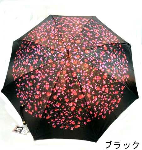 ♪花満開 小花柄 グラスファイバー製 超軽量骨 最高級 日本製 手開き傘 雨傘 長傘 ギフトに