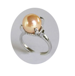 SV925 ゴールデン 貝バールリング 10mm SV925 Golden Shellfish Bar Ring 10mm 【コンビニ受取対応商品】