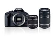 佳能 EOS 吻 X3 数码数码单反相机 levdouble 缩放工具包 (EF-S18-55 mm f3.5-5.6 是,F4 5.6 是 EF-S55-250 毫米) [02P01Oct16]