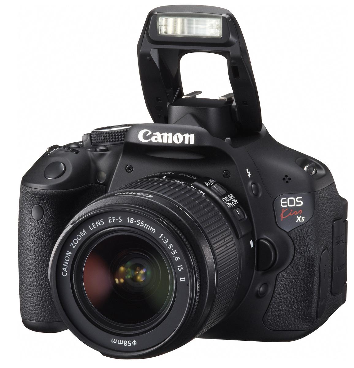 EF-S18-55 IS II lens Kit, Canon EOS Kiss X5 [18 million paintings great & full HD movie digital SLR levkamerakis DigitalX 5 standard zoom +] [02P03Sep16]