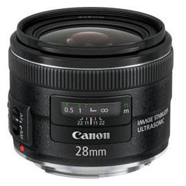 [3年保険付]Canon EF28mmF2.8 IS USM キヤノンEOS用広角レンズ『1~3営業日後の発送』[02P05Nov16]