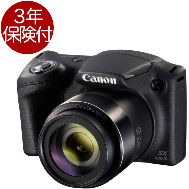 [3年保険付き] Canon PowerShot SX430 IS 高倍率ズーム搭載コンパクトデジカメ『即納~2営業日後の発送』【smtb-TK】[fs04gm][02P05Nov16]