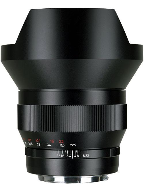 CarlZeiss Distagon T*F2.8/15mm ZE EOS(Canon EF)イオスマウント『納期未定予約』強烈なパースペクティブ表現!フルサイズ機で水平画角100度が撮影できるディスタゴン超広角レンズ[fs04gm][02P05Nov16]