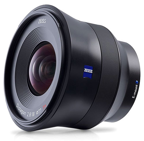 CarlZeiss Batis 2.8/18mm SONY E-mount 広角レンズ『1~2営業日後の発送』Distagon T*18mm F2.8 ソニーαEマウントフルサイズセンサー対応オートフォーカスレンズ[02P05Nov16]