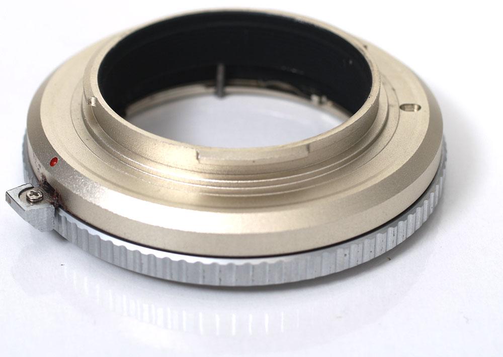 エレフォト Contax G lens - Sony Alpha NEX E Mount Adapter Sony NEX for fs3gm