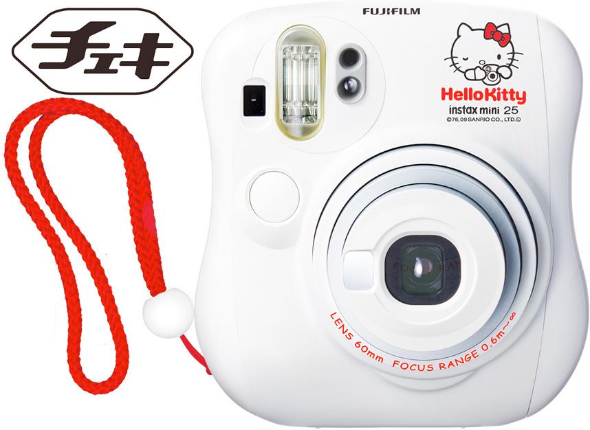 "Fuji Film インスタックス mini 25 チェキホワイトハローキティー (instax mini 25 Cheki Hello Kitty) ""immediate delivery ~ 3 business days after shipping calendar '"