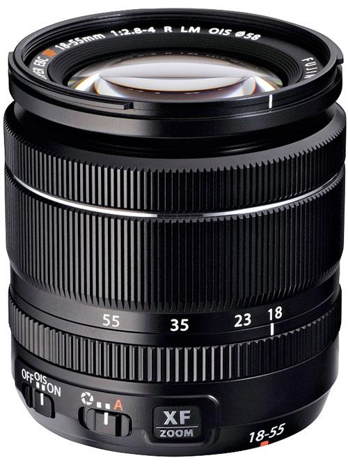 Fujifilm フジノンレンズ XF18-55mmF2.8-4R LM OISレンズ『納期4週間程度』広角27mmから中望遠84mm換算画角までカバーするXマウント常用標準ズームレンズ[02P05Nov16]【コンビニ受取対応商品】