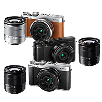 Fujifilm X-M1 double lens Kit (small premium SLR X-M1/XC16-50mmF3.5-5.6 OIS/XF27mm F2.8 lens Kit) [compact & lightweight trailers! Fuji Film premium mirales SLR] [02P24Jul13], [02P01Oct16]
