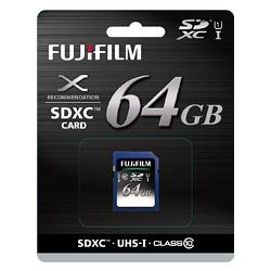 Fujifilm SDXCカード 64GB Class10 SDカード SDXC-064G-C10U1 『1~2営業日後の発送』[fs04gm][02P05Nov16]