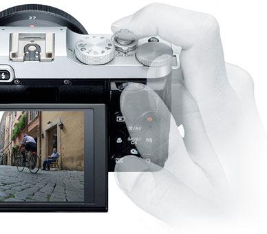 Fujifilm X-M1 double lens Kit (small premium SLR X-M1/XC16-50mmF3.5-5.6 OIS/XF27mm F2.8 lens Kit) [compact & lightweight trailers! Fuji Film premium mirales SLR] [02P24Jul13], [02P01Oct16]