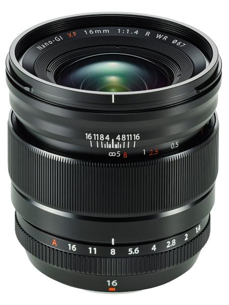 Fujifilm フジノンレンズ XF16mmF1.4R WR 広角レンズ『1~3営業日後の発送』明るい広角24mm相当画角のXマウントハイスピード広角単焦点レンズ[02P05Nov16]【コンビニ受取対応商品】