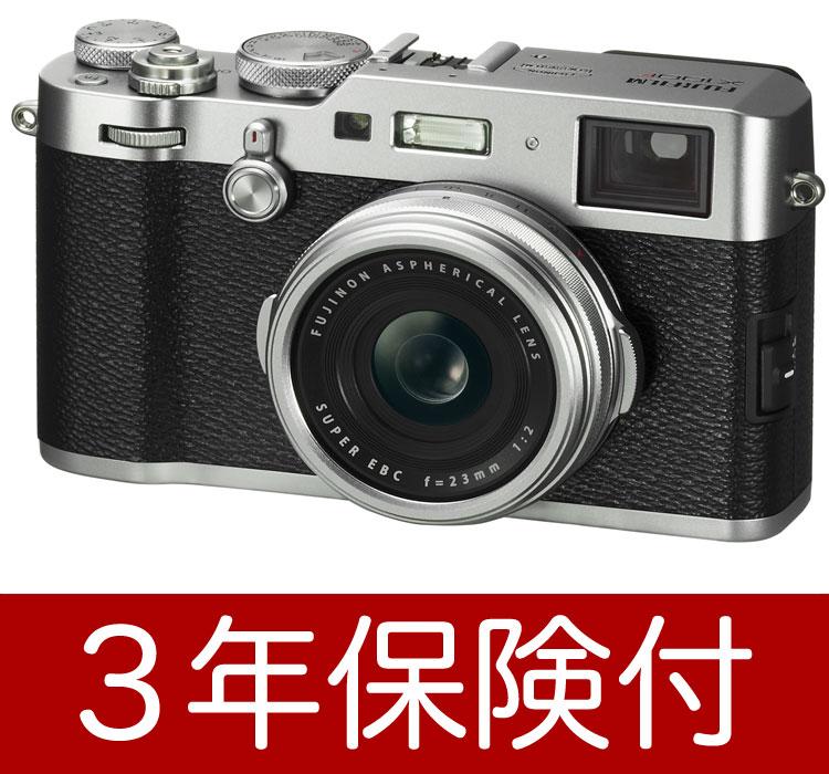 Fujifilm X100F-S デジタルカメラ シルバー『即納』【あす楽対応】アドバンスト・ハイブリッドビューファインダー搭載【smtb-TK】[fs04gm][02P05Nov16]