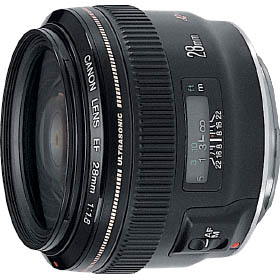 Canon EF28mmF1.8 USM(RF,RU) 『1~2営業日後の発送』緻密で細い線を描く広角単焦点レンズ[fs04gm][02P05Nov16]