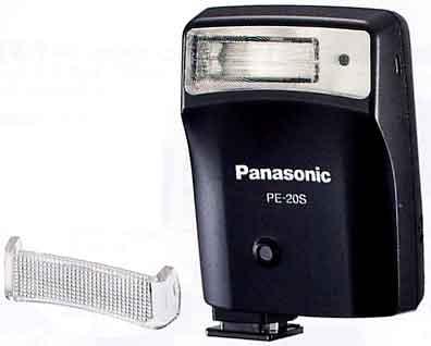 像Panasonic PE-20S(黑色)外部闪光自己光可能的自动闪光[fs04gm][02P21Aug14]