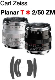 [3年保険付]【送料無料】Carl Zeiss Planar T*F2/50mm ZM-Mount Lens『即納可能』【あす楽対応】Mマウントカールツァイスレンズ [fs04gm][02P05Nov16]