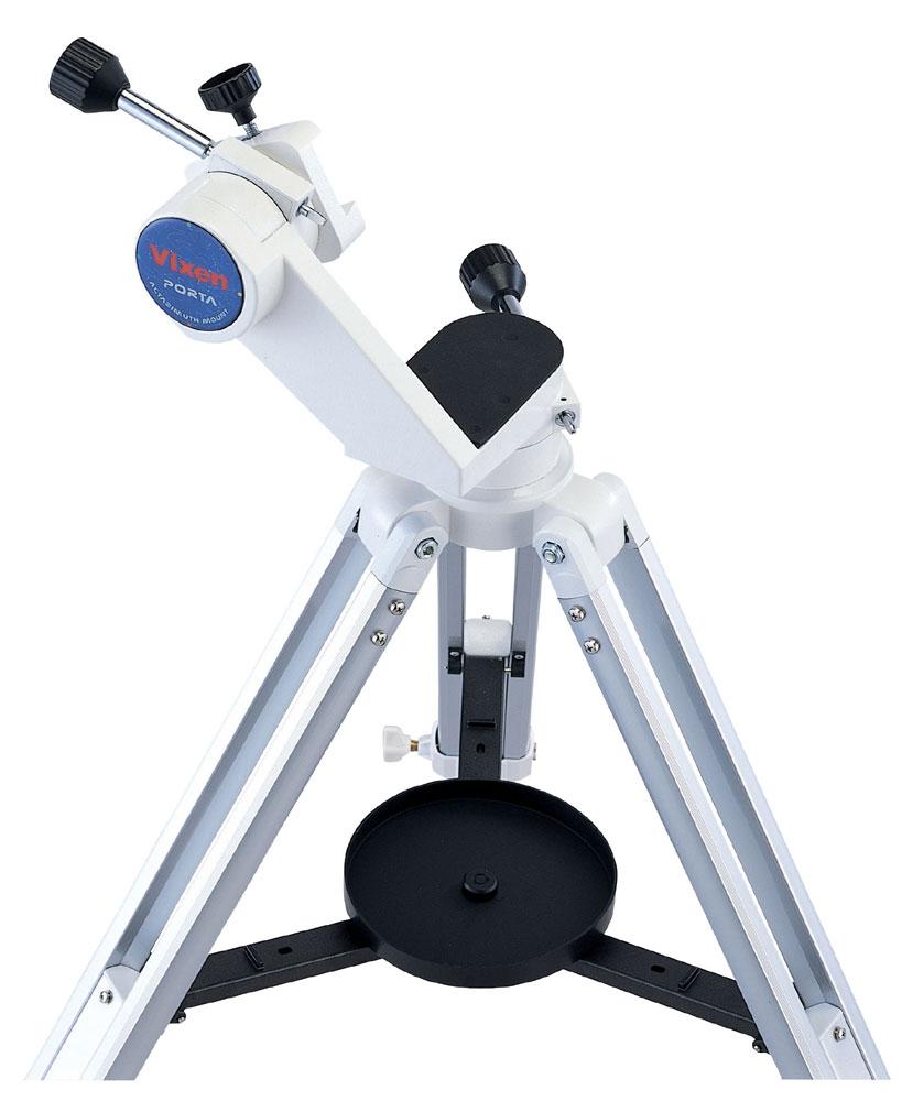 Vixen ポルタII経緯台三脚付 手で持って動かせて手を離した位置で固定される、使いやすい天体望遠鏡用架台 JAN:4955295399512[02P05Nov16]