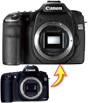 [three years insurance immediate delivery belonging to] for Canon EOS 20D →  EOS 40D digital single-lens reflex camera upgrading