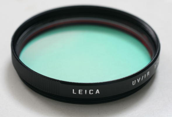 ライカ UV/IRフィルターE39(13410ブラック/13416シルバーFilter E39 UV/IR[fs04gm][02P05Nov16]
