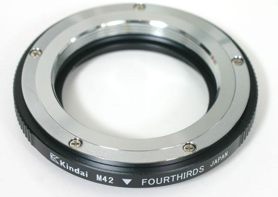 近代インターナショナル M42-フォーサーズ(OLYMPUS/Panasonic) マウントアダプター【即納】あす楽対応 [レンズに絞り込みレバーのない(A-M切り替えがない)レンズ用][fs04gm][02P05Nov16]