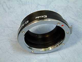 近代インターナショナル ニコンF-ライカLマウントアダプター[ Nikkorレンズをライカ/フォクトレンダーLマウント(L39)カメラで使う][02P24Jan13]