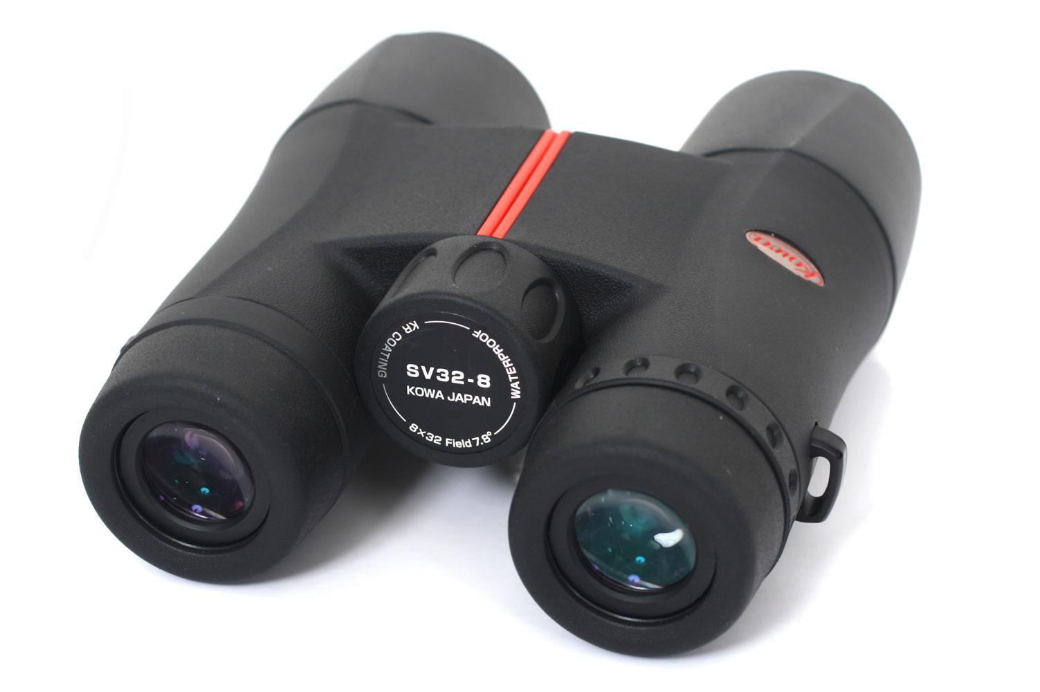 コーワ SVシリーズ SV32-8 8×32ダハプリズム双眼鏡[防水仕様でレンズに汚れがつきにくく軽量、優れた光学性能を持ちながら高いコストパフォーマンスを実現したダハプリズム双眼鏡。]【smtb-TK】[fs04gm][02P05Nov16]
