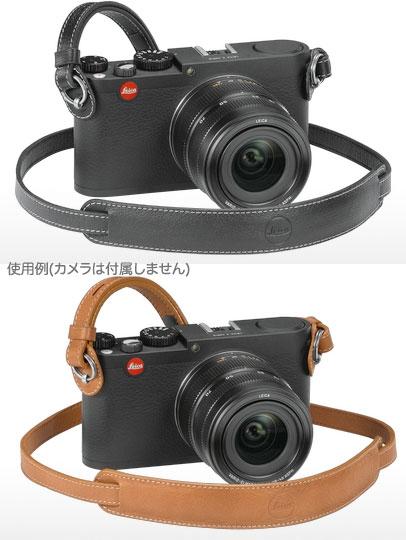 Leica ライカX/M用キャリングストラップ ブラック18776/コニャック18777[fs04gm][02P05Nov16]
