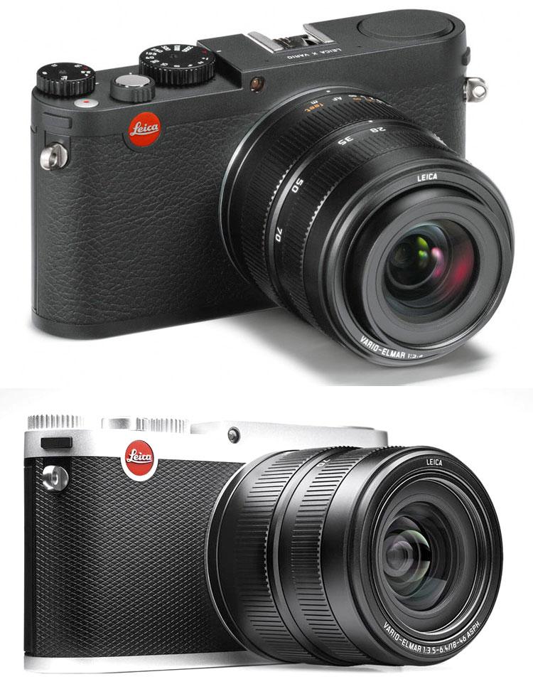 Leica Xバリオ Typ.107  ブラック18430/シルバー18431 APS-Cサイズ1620万画素の大型CMOSセンサーと28-70mm相当VARIO-ELMARズームレンズ搭載[X-VARIO]ハイエンドコンパクトデジカメ[fs04gm][02P05Nov16]