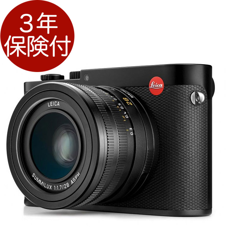 [3年保険付] Leica Q (Typ116) ブラック 18115 フルサイズセンサー採用コンパクトデジカメ[02P05Nov16]