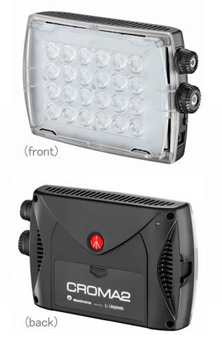 Manfrotto #MLCROMA2 NewSpectra色温度可変LEDライト 思い通りの光に設定できる色温度可変モデルLEDライト【smtb-TK】[fs04gm][02P05Nov16]