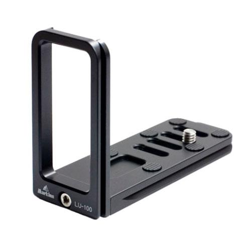 マーキンス Lプレート LU-100 汎用型 L-プレート (一体型)『2~3営業日後の発送』[35mmカメラ及びデジタルカメラ用LプレートL-プレート(L型ブラケット)]Markins LU100 【smtb-TK】[fs04gm][02P05Nov16]