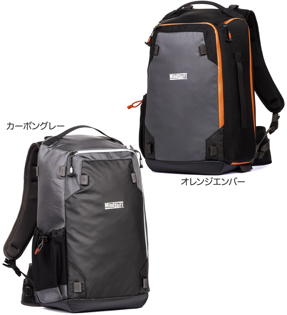MindShiftGEAR(マインドシフトギア) PhotoCross15 Backpack フォトクロス15バックパック[カーボングレイ/オレンジエンバー][02P05Nov16]