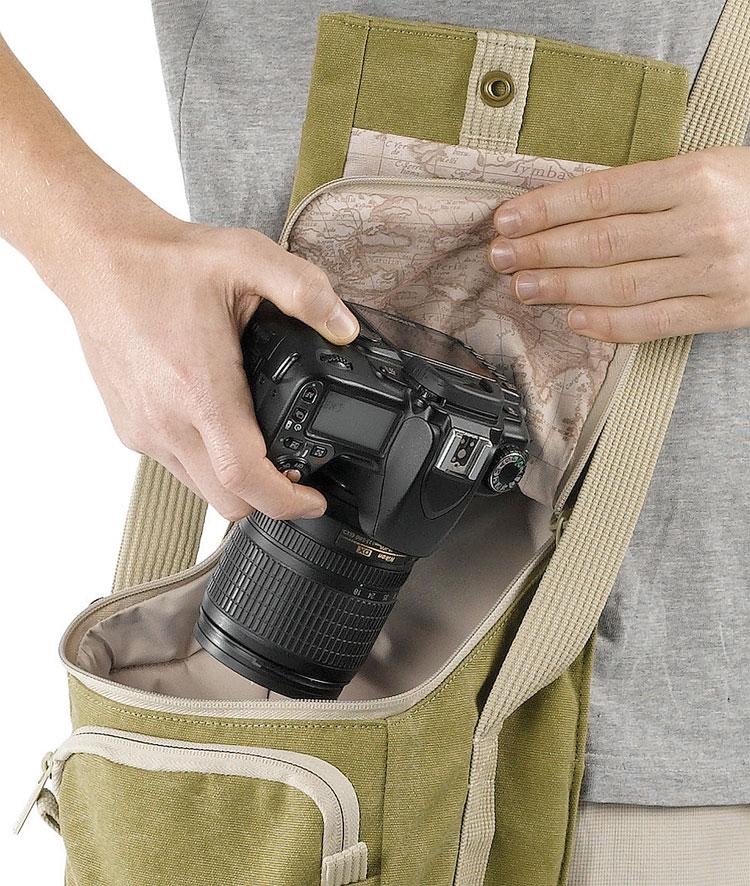 カメラバッグ・ストラップ(タ行~ワ行)>ナショナルジオグラフィック>アースエクスプローラー(グリーン色)