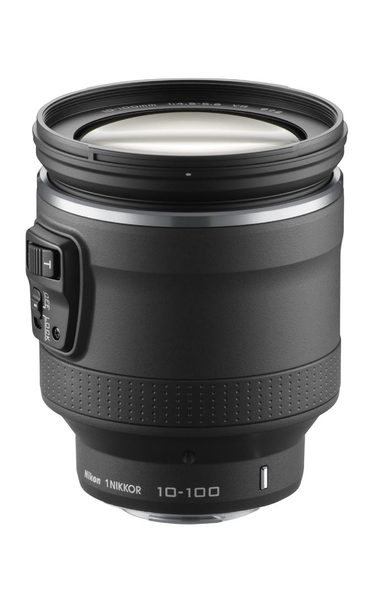 [3年保険付]Nikon 1 NIKKOR VR 10-100mm f/4.5-5.6 PD-ZOOMパワーズームレンズ『即納~2営業日後の発送予定』[焦点距離10-100mmの10倍のパワードライブズームレンズ。静止画、動画、両方の撮影を積極的に楽しみたい方に最適なレンズ。]【smtb-TK】[02P26Apr14]
