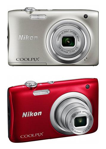 camera mitsuba nikon coolpix a100 digital camera stock 2